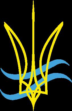 Принт Мужская майка Кумедний герб України - FatLine