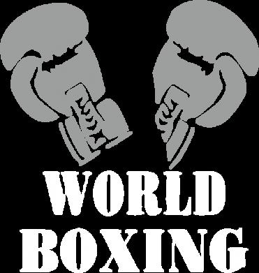 Принт Реглан (свитшот) World Boxing - FatLine