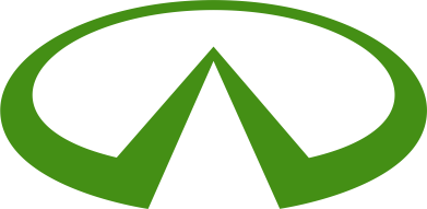 Принт Подушка Infiniti logo - FatLine