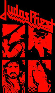 Принт Подушка Judas Priest - FatLine