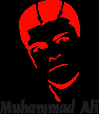 Принт Подушка Muhammad Ali - FatLine