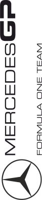 Принт Женская футболка Mercedes GP Vert - FatLine