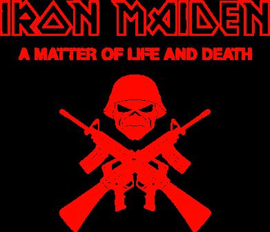 Принт Коврик для мыши Iron Maiden - FatLine