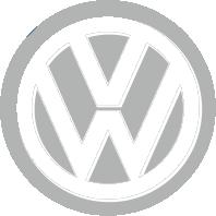 Принт Женская футболка Volkswagen Logo - FatLine