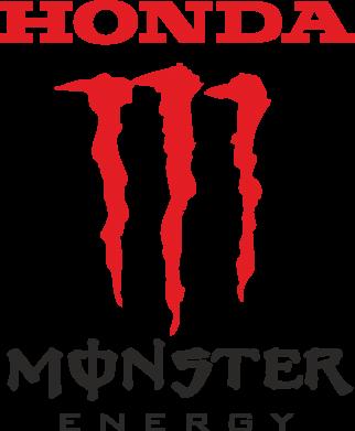 Принт Подушка Honda Monster Energy - FatLine
