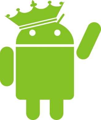 Принт Толстовка Android King - FatLine