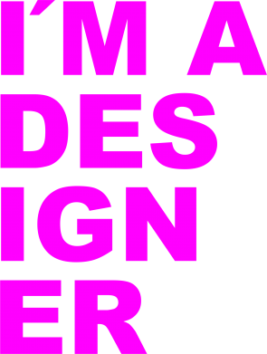 Принт Футболка I'AM A DESIGNER - FatLine