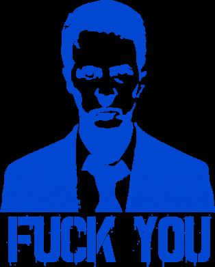 Принт Сумка fuck you (бойцовский клуб) - FatLine