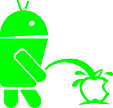 Принт Шапка Android унижает Apple - FatLine