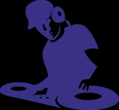 Принт Женская толстовка Dj Logo - FatLine