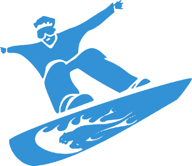Принт Сумка Snow Board - FatLine