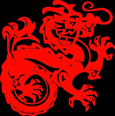 Принт Толстовка Дракон - FatLine