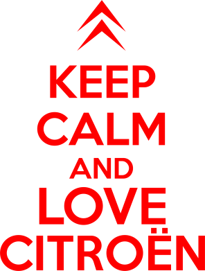 Принт Футболка KEEP CALM AND LOVE CITROEN - FatLine