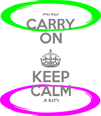 Принт Сумка KEEP CALM teleport - FatLine
