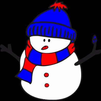 Принт Женская футболка Снеговик - FatLine