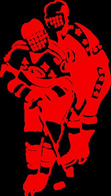 Принт Подушка Хоккеисты - FatLine