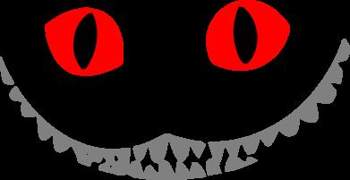 Принт Сумка чеширский кот - FatLine