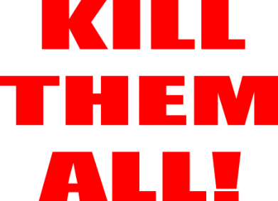 Принт Сумка Kill them all! - FatLine