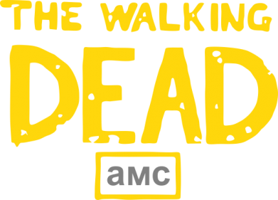 Принт Футболка Поло The walking dead амс - FatLine