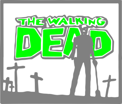Принт Сумка Walking dead logo - FatLine