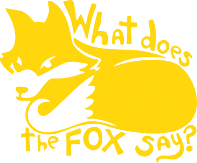 Принт Футболка What does fox say? - FatLine