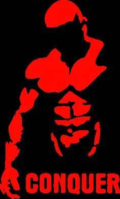 Принт Фартук Conquer - FatLine