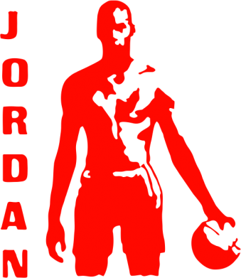 Принт Подушка Jordan - FatLine