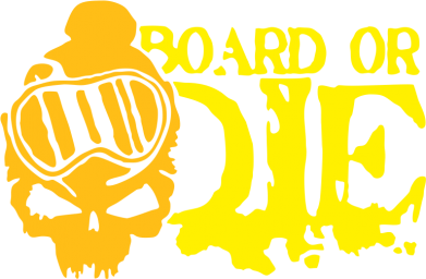 Принт Толстовка Board or Die - FatLine