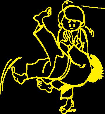 Принт Реглан (свитшот) Judo Fighters - FatLine