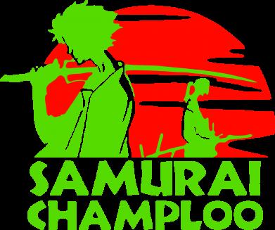 Принт Женская майка Samurai Champloo - FatLine