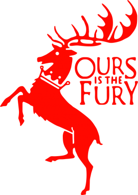 Принт Сумка Ours is the fury - FatLine