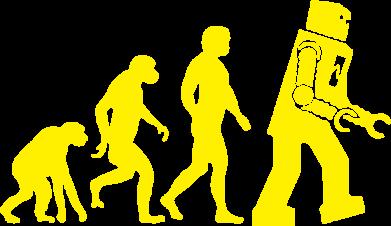 Принт Реглан (свитшот) The Bing Bang theory Evolution - FatLine