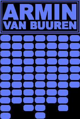 Принт Женская майка Armin Van Buuren Trance - FatLine