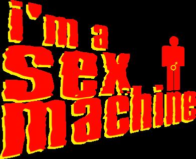 Принт Подушка I'am a sex machine - FatLine