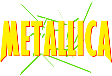 Принт Штаны Metallica Logo - FatLine