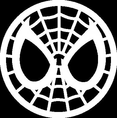 Принт Футболка Поло Спайдермен лого - FatLine