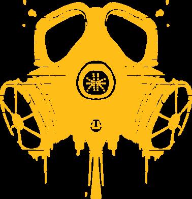 Принт Сумка The Chemodan Clan противогаз - FatLine