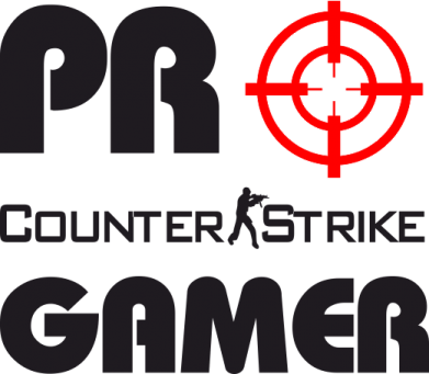 Принт Футболка Поло Counter Strike Pro Gamer - FatLine