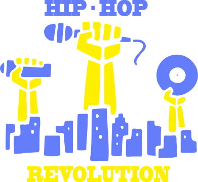 Принт кепка Hip-hop revolution - FatLine