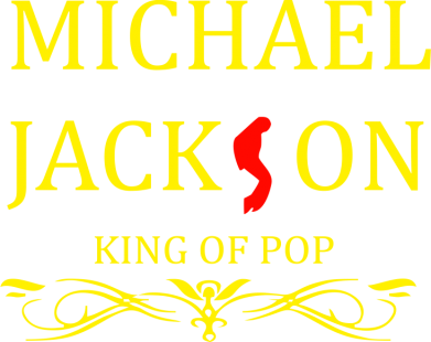 Принт Футболка Поло Michael Jackson King of POP - FatLine
