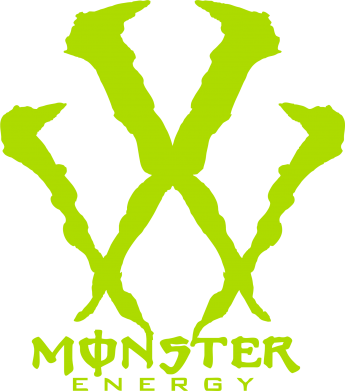 Принт кепка Monster Energy W - FatLine