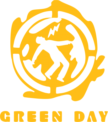 Принт Футболка Green Day Logo - FatLine