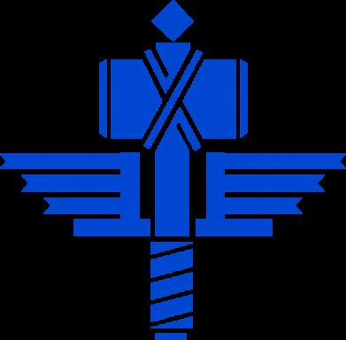 Принт Подушка Manowar Logo - FatLine