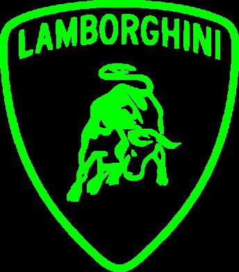 Принт Мужская майка Lamborghini Auto - FatLine