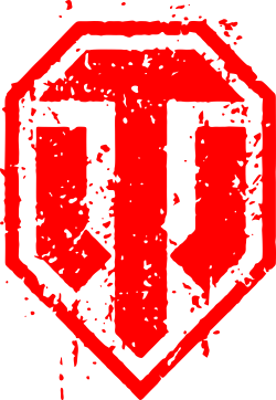 Принт Подушка WOT Logo - FatLine