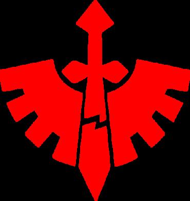 Принт Мужские трусы Warhammer 40k Dark Angels - FatLine