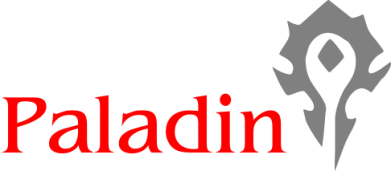 Принт Мужская футболка  с V-образным вырезом Paladin - FatLine