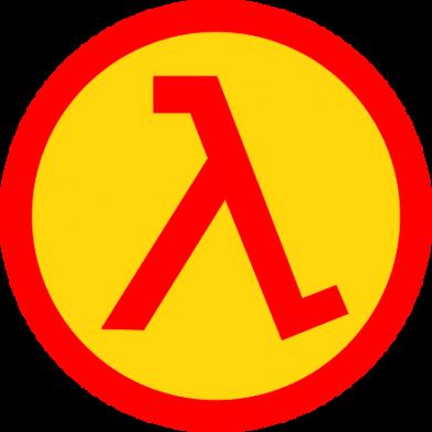 Принт Кепка-тракер Half Life Logo - FatLine