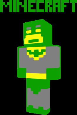 Принт Кружка 320ml Minecraft Batman - FatLine