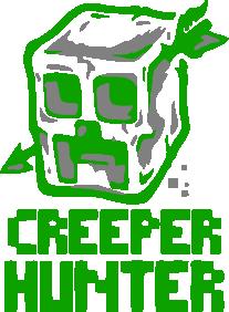 Принт Коврик для мыши Creeper Hunter - FatLine